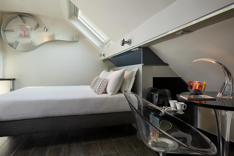 hotel de charme paris - chambre deluxe - 3h Paris Marais Hotel