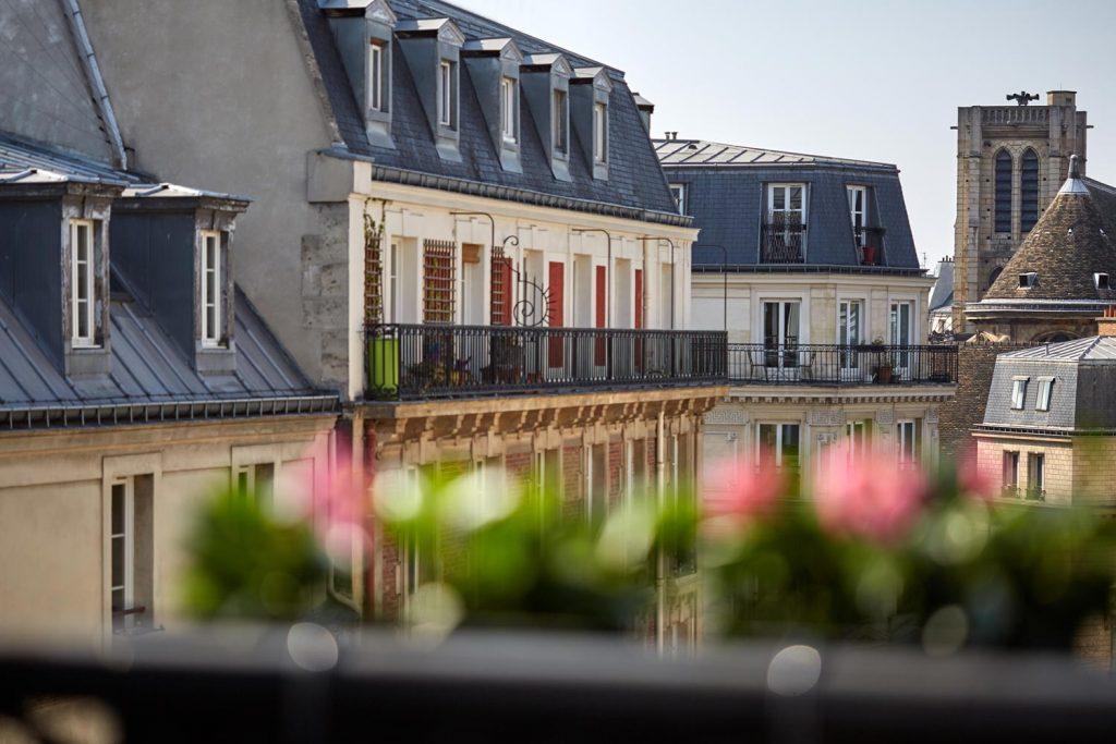 Vue Hotel paris Marais, Hotel paris centre, le 3h paris marais
