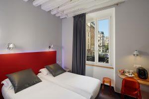 3H PARIS MARAIS HOTEL CHAMBRE TWIN