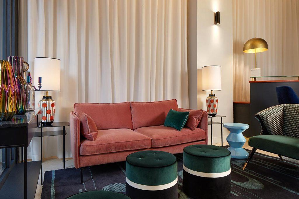 Hotel paris Marais, décoration de la réception 3H PARIS MARAIS HOTEL